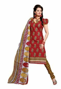Fabdeal Indian Designer Pure Cotton Red & Mustered Printed Salwar Fabdeal Inc, http://www.amazon.fr/dp/B00IRBAP22/ref=cm_sw_r_pi_dp_PLrotb1JKWV6C