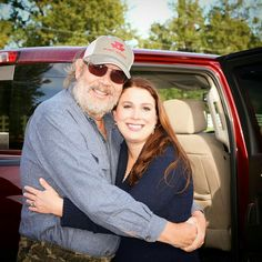 Bocephus with his youngest daughter Katie Williams