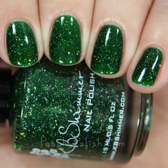 KBShimmer Kind Of A Big Dill   Winter 2015 Collection   Peachy Polish