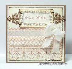 JustRite Stampers - New Release - Lace Borders