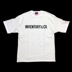WORD IN LIFE by INVENTORY&CO. LOGO T SHIRT FRONT / WHITE  #WORDINLIFE #INVENTORYANDCO #INVENTORY #IANDC #WETAKEPRIDEINWORK