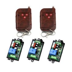 17.84$  Buy now - http://ali5vu.shopchina.info/1/go.php?t=32578099523 - 220V 110V 1CH(channel) 10A Free Shipping Wireless Remote Switch Learning code 315Mhz/433Mhz optional 4268 17.84$ #magazineonline