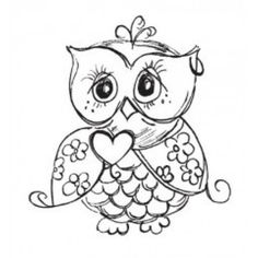 Hey, I found this really awesome Etsy listing at https://www.etsy.com/listing/112494089/clear-stamp-owl-unmounted-rubber