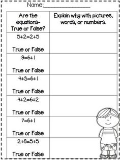 First Grade End of the Year MATH Review Part 1~ Freebie in Preview!