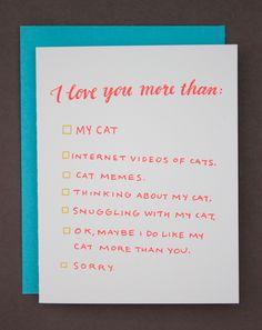 I love you more than...                                                                                                                                                                                 More