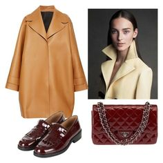 """Mustard and burgundy"" by stefania-fornoni on Polyvore featuring moda, Rochas, Topshop, Chanel, burgundy e mustard"