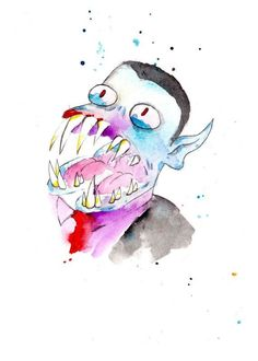 Hunson Abadeer Watercolor - Adventure Time