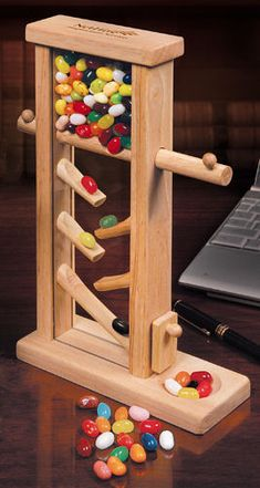 Executive Jelly Bean Dispenser | All About Gifts & Baskets