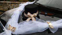 Svatební dekorace, výzdoba na auto ženicha CYLINDR / Zboží prodejce MONEO73 | Fler.cz Celebrity Weddings, Celebrities, Dresses, Cars, Vestidos, Celebs, Dress, Gown, Celebrity