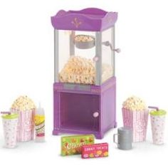 American Girl Movie Popcorn Machine Doll & Action Figure Accessories