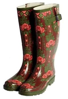 autumn wellies. LOVE!!! #autumn #shoes