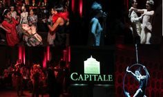 NYC Event. Cafe in paris at Capitale Restaurant