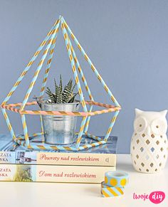 Diament paper straw DIY - tutorial on twojediy.pl