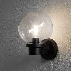 Konstsmide Nemi Globe Outdoor Wall Light