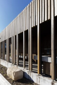 From brick shithouse to terrific toilets: Marks Park Amenities by Sam Crawford Architects | Architecture And Design
