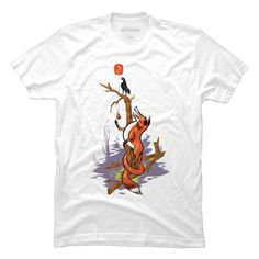 The Fox and the Crow Men's T-Shirt