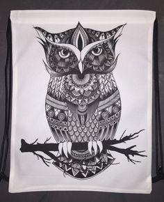 Owl Zentangle Shoulder Bag - I think I just found my new favorite online shop? Oh god no...