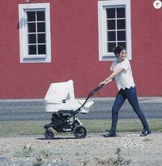 Princess Sofia of Sweden with baby Prince Alexander during Stenhammar Day on June 2016 in Stenhammer Palace, Sweden.