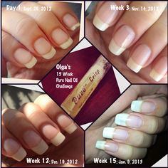 Nail Oil Pure And Cuticle Challenger Olga S Results