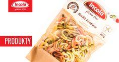 Jeśli poznałeś nasze Fusilli, koniecznie spróbuj jego jeszcze bardziej aromatycznej wersji! Jego barwa pochodzi z natury- zieleni szpinaku i czerwieni papryki. :) Nie zawiera glutenu, jaj, soi, mleka. Jest przepyszny! Inne nasze produkty bezglutenowe: www.incola.com.pl