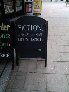 Isn't this the truth? @Waterstones in Bloomsbury, London #booklove #lbloggers #bookbloggers