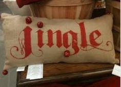 Jingle pillow 2013