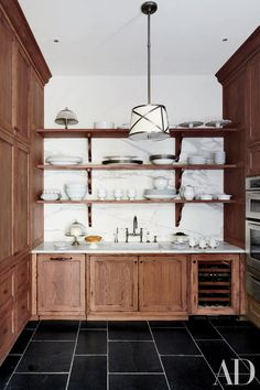 Kitchen Pantry Ideas for a Seriously Stylish and Organized Space Photos | Architectural Digest White with wood