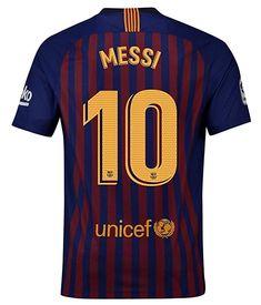675e62c01324 NroaL New Barcelona Stadium 2018 2019 Messi 10 Home Jersey Mens Blue L   Messi