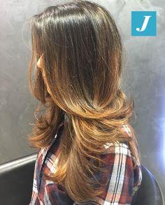 Very Natural Shades _ Degradé Joelle  #cdj #degradejoelle #tagliopuntearia #degradé #igers #musthave #hair #hairstyle #haircolour #longhair #oodt #hairfashion #madeinitaly