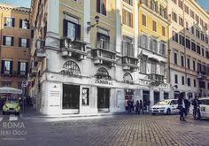 Zabban & C. -  Anno: 1920 Posizione: Piazza di Spagna   #roma #rome #rephotography #piazzadispagna