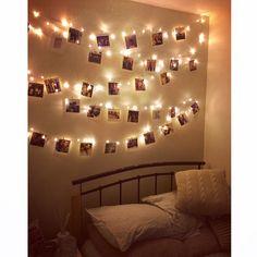 @wearepaperwave instagram prints hanging on my fairy lights in my cute new bedroom #bedroominspo #interiorinspo Instagram Prints, Nude Lipstick, Bedroom Inspo, Fairy Lights, Wall Lights, Photo Wall, Design, Home Decor, Appliques