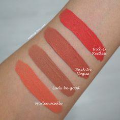 MAC Retro Matte Liquid Lipsticks - FINALLY...