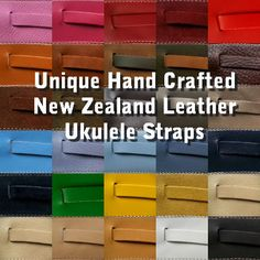 Online store for love my ukulele. unique ukulele gifts and accessories. hand-made leather ukulele straps made in new Zealand in many colors, shipped worldwide. ukulele t-shirts. Ukulele Store, Cool Ukulele, Ukulele Straps, New Zealand, My Love, Unique, Leather, Crafts, Posters