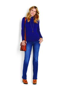Long Sleeve Funnel Neck & Modern Straight Leg Jean http://www.myjockeyp2p.com/wprice