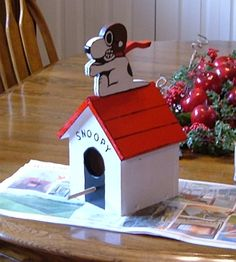 Jayaruh's Blog: Snoopy Bird House