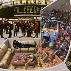 Incident at Waterloo - 3D Street Art