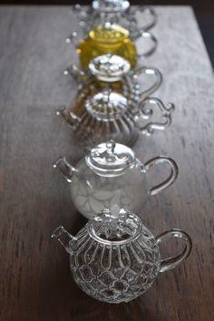 「お茶をたのしむうつわ展@銀座三越」に向けて | ++glass atelier えむに++