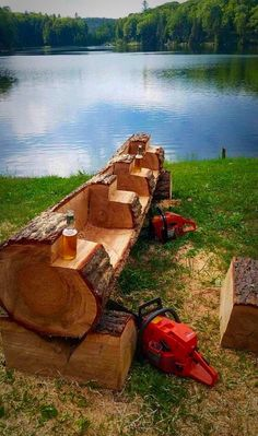Outdoor Kitchens 687150855628900073 - Rustic Logs, So . - Outdoor Kitchens 687150855628900073 – Rustic Logs, Source by natfurno - Backyard Projects, Outdoor Projects, Garden Projects, Wood Projects, Woodworking Projects, Outdoor Decor, Outdoor Seating, Rustic Outdoor, Rustic Wood