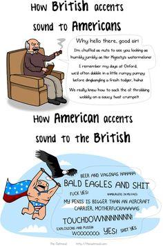 British vs. American accents