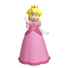 youcanwearapinkdressandyellowcrownblueearingsandnecklesandyellowhair Super Mario Princess, Mario And Princess Peach, Nintendo Princess, Princess Daisy, Super Mario Run, New Super Mario Bros, Super Mario Brothers, Mario Bros., Mario And Luigi