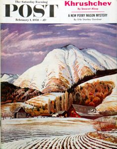 Sat Eve Post Cover ILL.  -  Feb 1 1958
