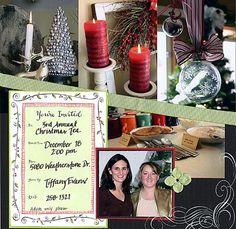 Tiffany's ChristmasTea - Scrapjazz.com