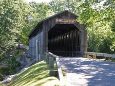 Covered Bridges in the State of Michigan - Travel Photos by Galen R Frysinger, Sheboygan, Wisconsin