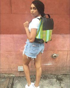 Rise and slay.  Product: Nkrumah Backpack  http://ift.tt/1kuHFKj  Tags: #ceeceesclosetnyc #summerwithceecee #ceeceescloset #backpack #backpacks