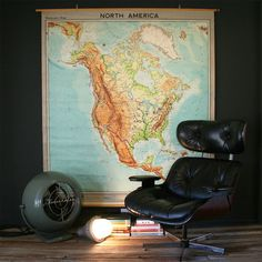 Map of North America...my life pretty much!