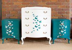 Butterfly dresser set-0235