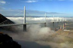 10 La plupart des Amazing Bridges (Ponts, passerelles stupéfiantes, les différents types de ponts, conceptions de pont, le plus frais Ponts, Beau Bridges, Banpo Pont, Pont de Millau, Waves Henderson, Hangzhou Bay Bridge, pont roulant, Oliveira Pont, vent et pluie Bridg) - ODDEE
