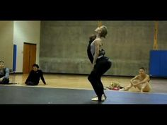 Sarah Lamb rehearsing for Vail International Dance Festival