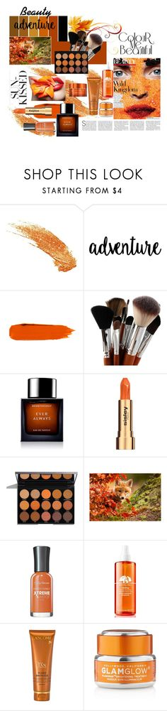 """Sun Kissed"" by max-chance ❤ liked on Polyvore featuring beauty, BoonTheShop, Sisley, Origins, Lancôme, GlamGlow and Dr. Dennis Gross Skincare"