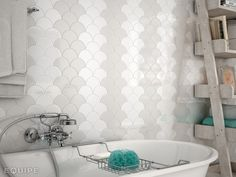 All our ceramic tiles ⋆ Ceramic floor tiles and wall tiles ⋆ La Tuilerie Grey Wall Tiles, Kitchen Wall Tiles, Room Tiles, Wall And Floor Tiles, Ceramic Floor Tiles, Mosaic Tiles, Scallop Tiles, Fish Scale Tile, Decorative Wall Tiles
